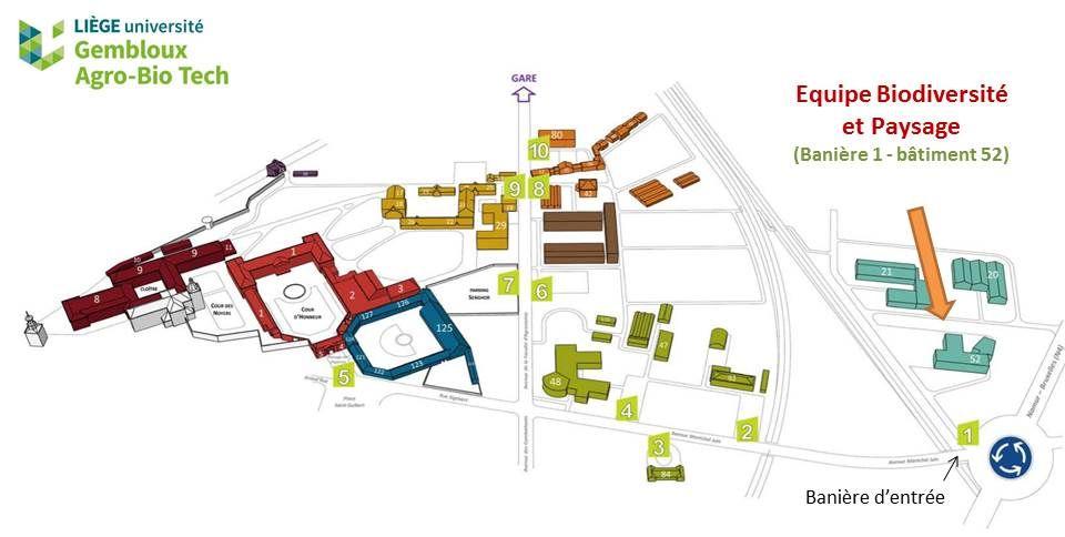 Plan BP sur le Campus