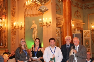 Dr. Mehmet Nail NASIR during the ceremony of EuroFedLipids in Florence, Italy