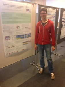 Dr. Jean-Marc CROWET during a poster presentation