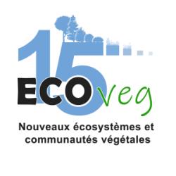 ECOVEG 15 – Nouveaux écosystèmes et communautés végétales Logo
