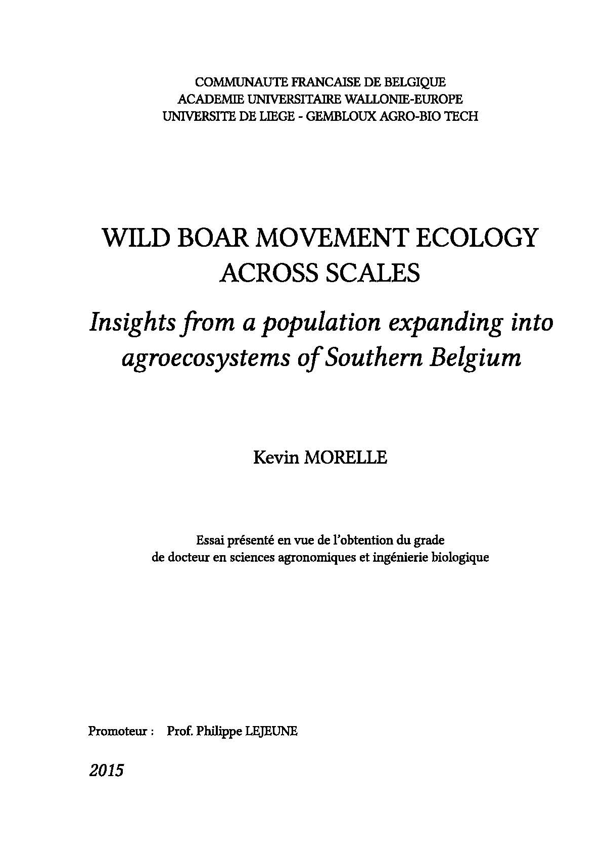 wild attack phd thesis